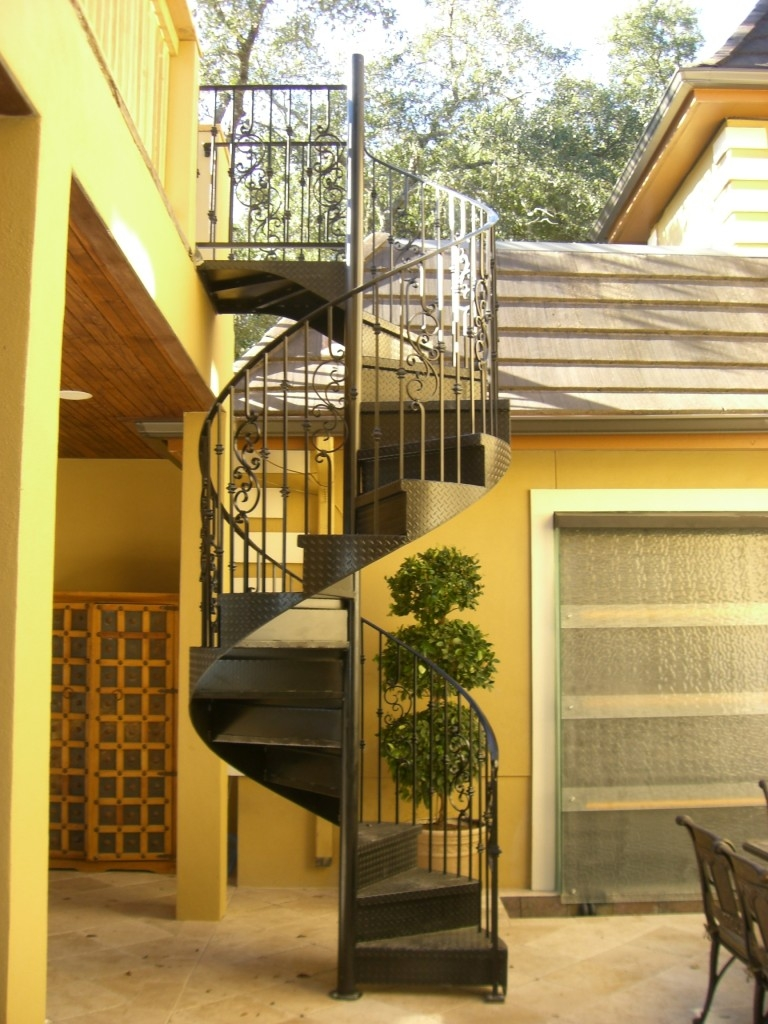 External Iron Stairs Design Outdoor | Wrought Iron Stairs Outdoor | Early 19Th Century | Iron Handrail | Mild Steel | Porch | Steel