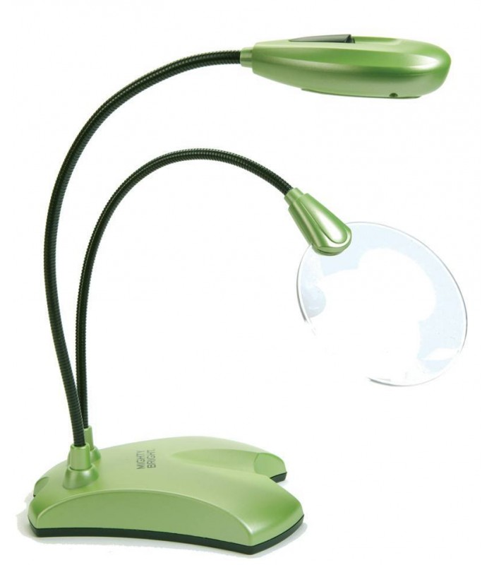 Mighty Bright Led Floor Light And Magnifier