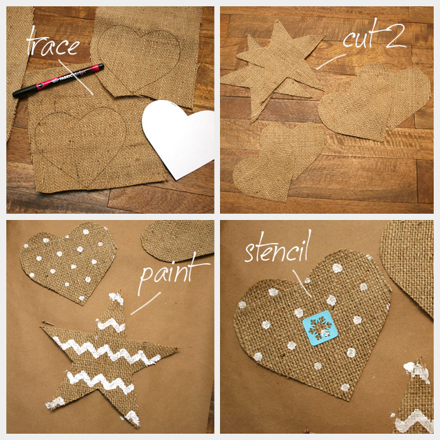Country Ornament DIY Painting