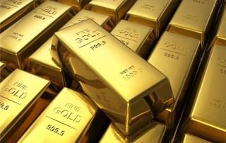 Foto de lingotes de ouro