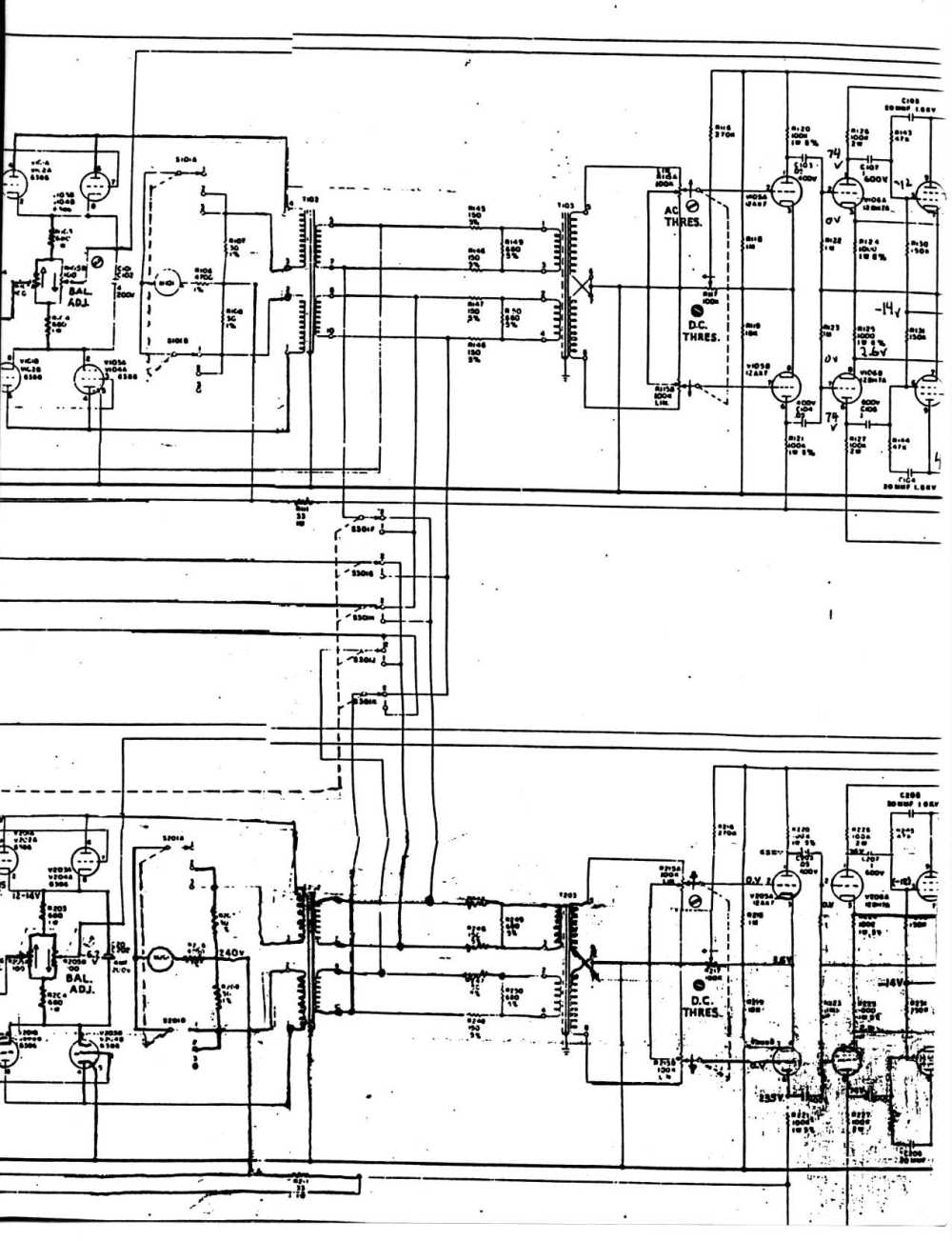 medium resolution of emt 140 stereo driver output amplifier fairchild model 670 stereo limiter compressor schematic page 1