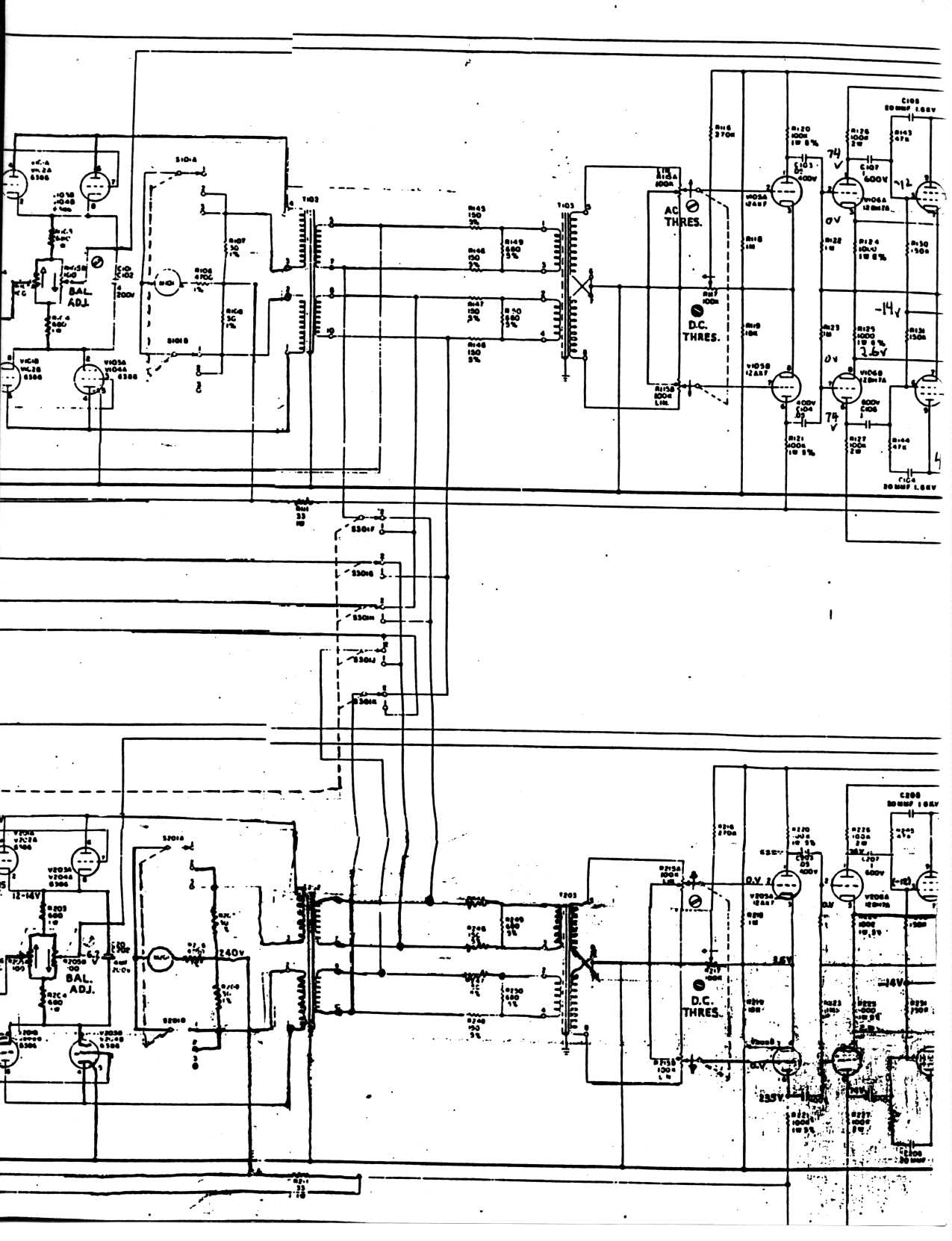 hight resolution of emt 140 stereo driver output amplifier fairchild model 670 stereo limiter compressor schematic page 1