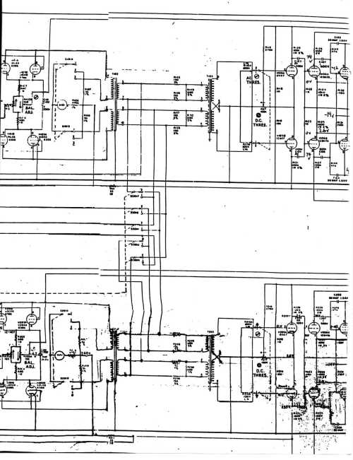 small resolution of emt 140 stereo driver output amplifier fairchild model 670 stereo limiter compressor schematic page 1