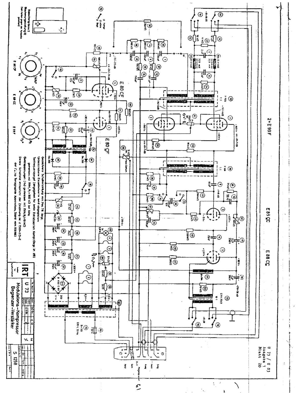 Triode Electronics:On Line Studio Electronics Diagrams
