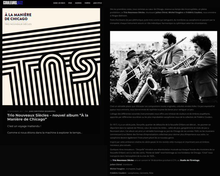 Couleurs Jazz 15 11 17