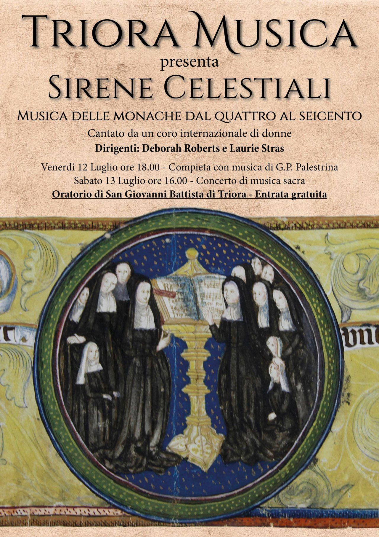 "Triora Musica presenta ""Sirene Celestiali"""