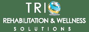 Trio Rehabilitation & Wellness Services Logo and Tagline