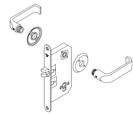 Door Lock Sets Door Security Locks Wiring Diagram ~ Odicis