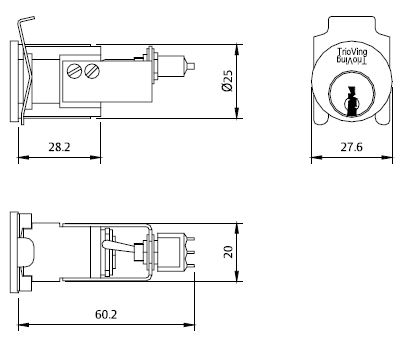 Rocker Switch Dimensions, Rocker, Free Engine Image For
