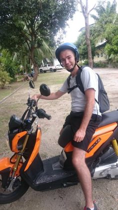 location scooter thailande