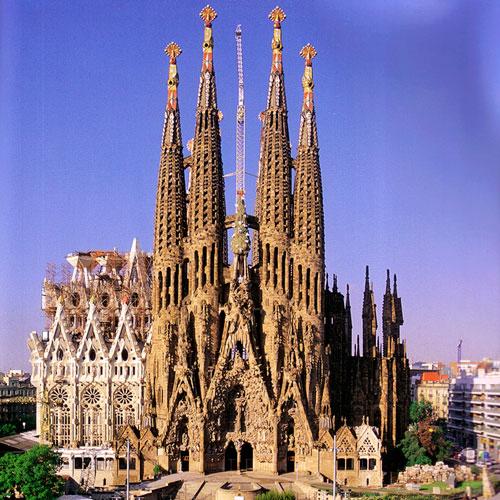Sagrada Familia by Antoni Gaud  Barcelona