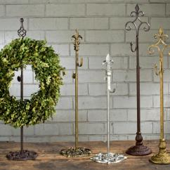 Tall Kitchen Tables Make Over Wreath & Finial Stands By Tripar International, Inc.