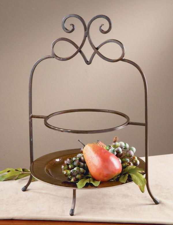 2 Tier Plate Stand. Creative Home 73045 3-tier Dinner Rack 20