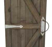 Barn Door Wall Art - 2 Piece Set - Tripar International, Inc.