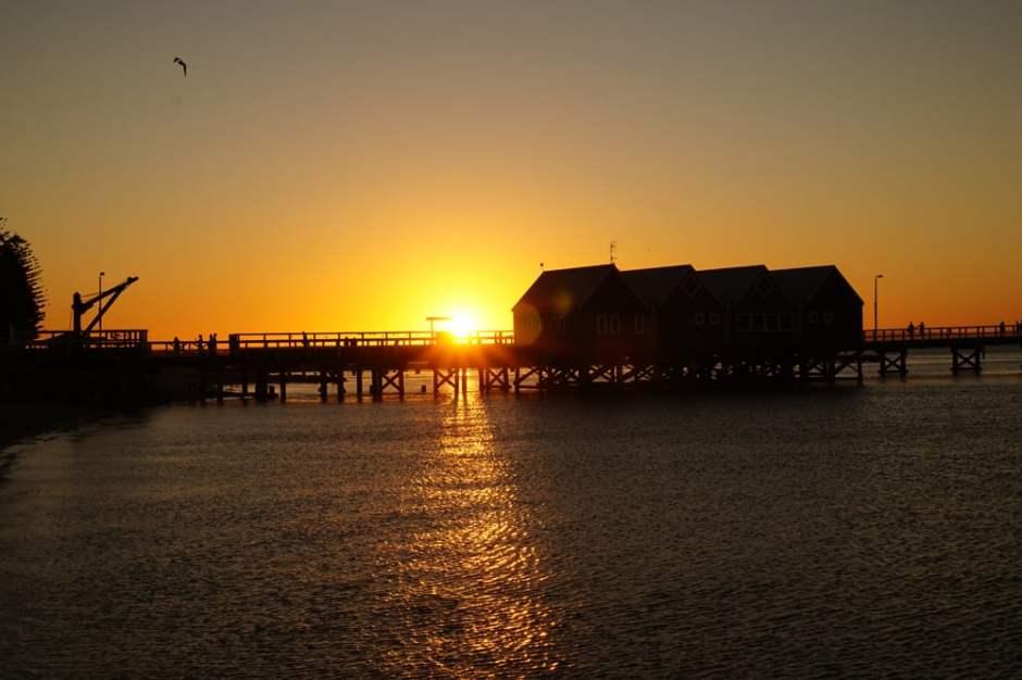 bussleton-jetty-sunset
