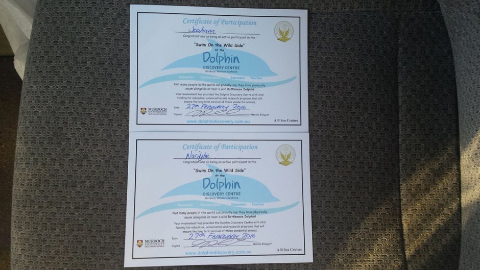Nous vous présentons les diplômes de Joahann et Narilyne