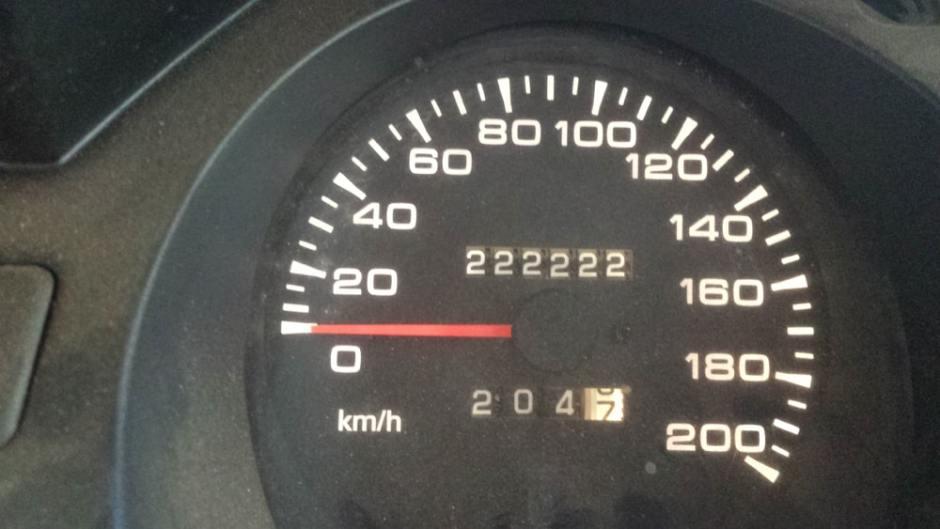 Pony souffle ses 222 222kms sur la route !
