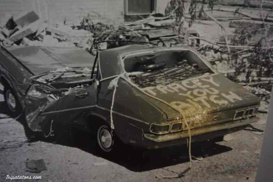 Tracy, le cyclone qui c'est abattu sur Darwin en 1974