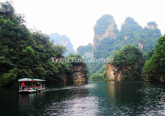 Baofeng Lake Zhangjiajie Attractions In Zhangjiajie Hunan China