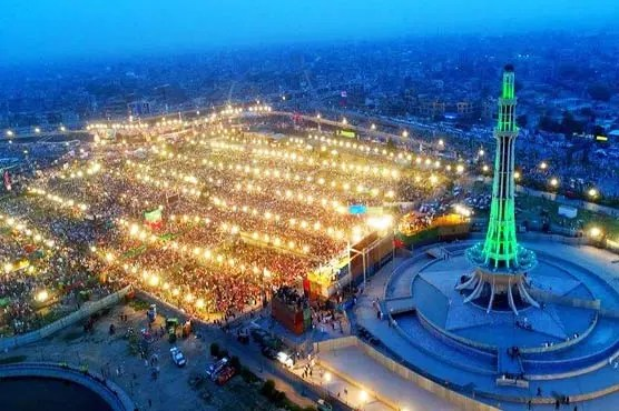 Minar-e-Pakistan best places to visit in Lahore