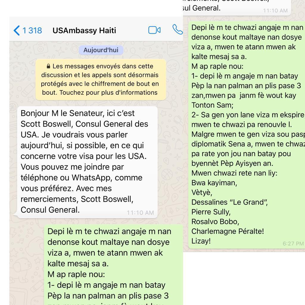 Antonio Cheramy refuse de rencontrer le consul américain après la suppression de son visa