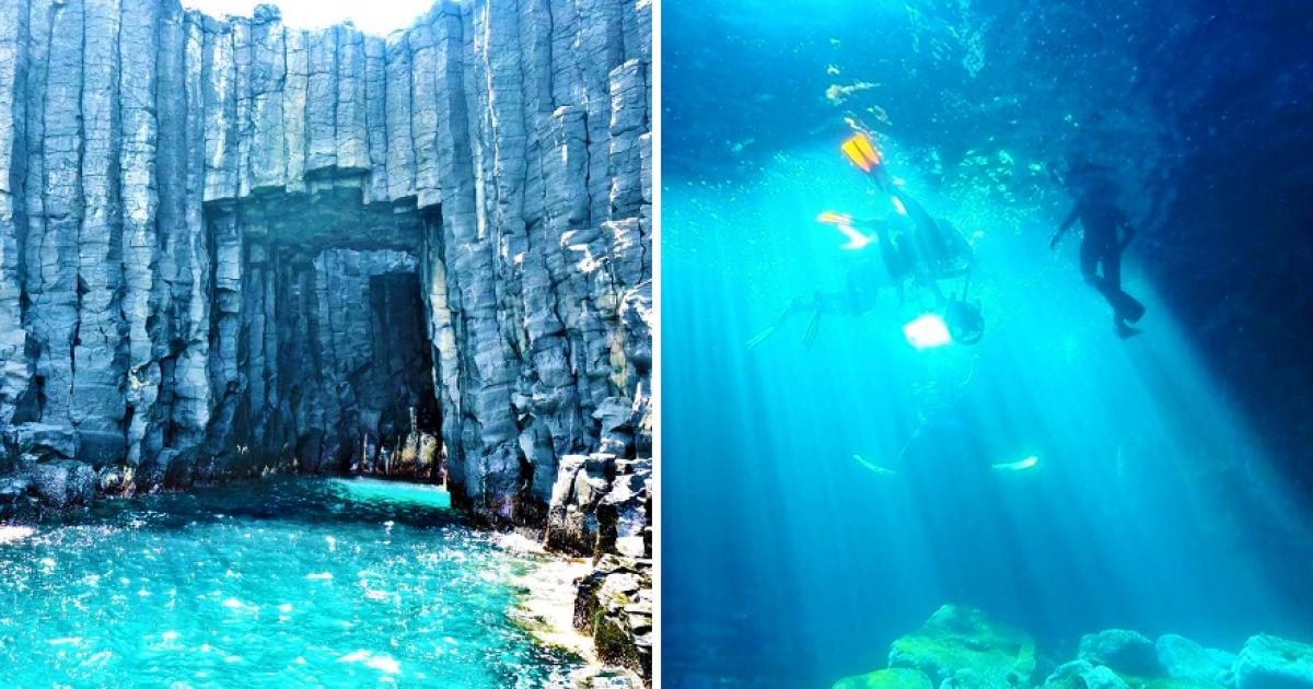 日本媒體也報導「迷人藍洞在澎湖」 4月~9月天天都有船班讓你說走就走 - TripGo 旅行趣