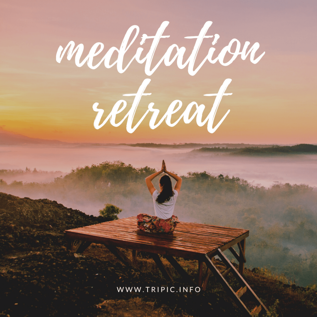 BOOK MEDITATION RETREAT WORLDWIDE