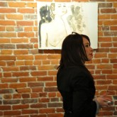 Gallery opening at Sticks + Stones