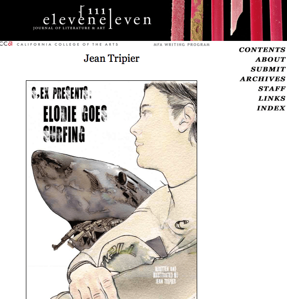"Eleven Eleven publishes ""Elodies goes surfing"""