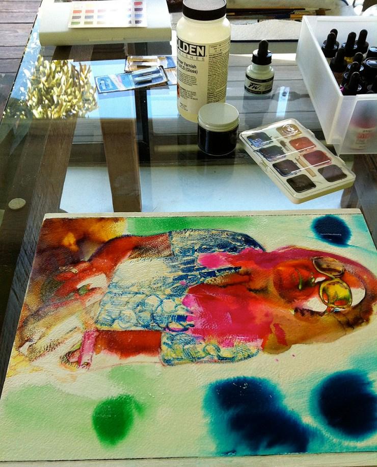 Artist studio for Jean Tripier
