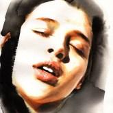 La dolorosa - watercolor