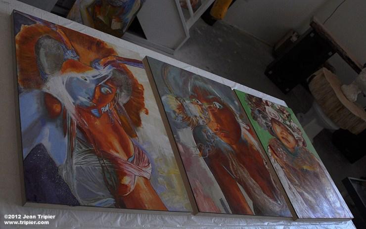 In the artist studio of Jean Tripier