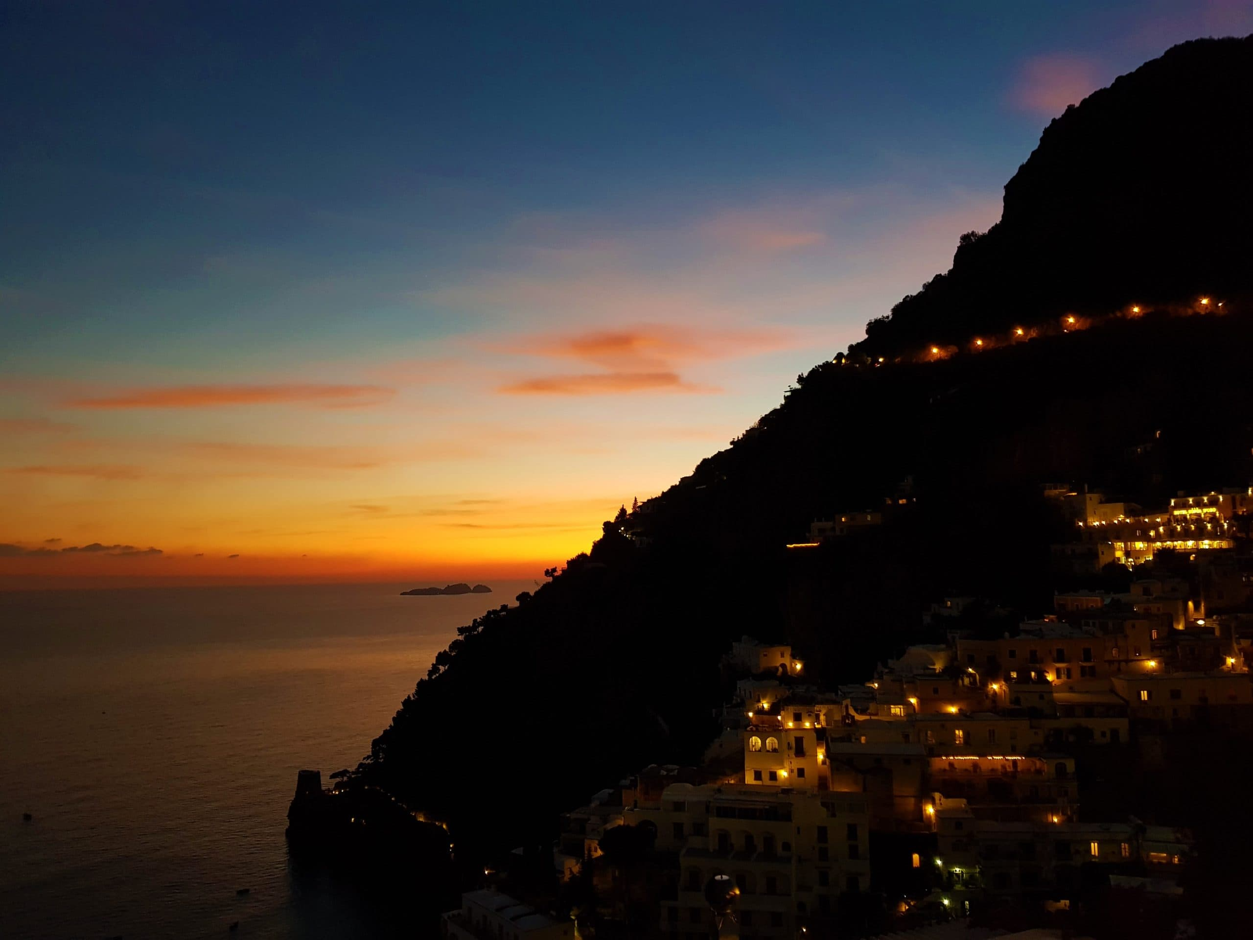 Best Amalfi Coast Sunset Positano Italy