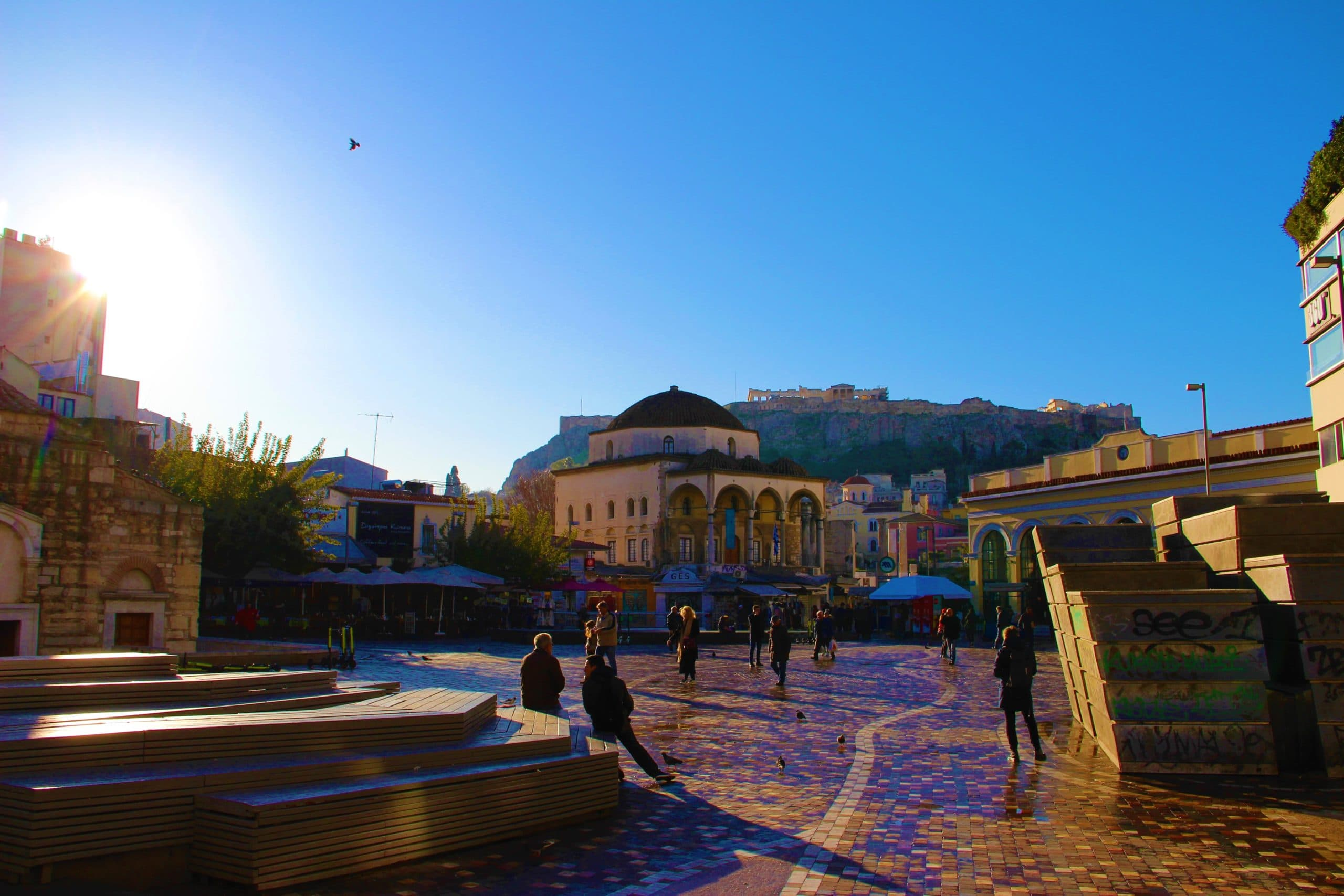 Monastiraki Athens: history, food and shopping 1