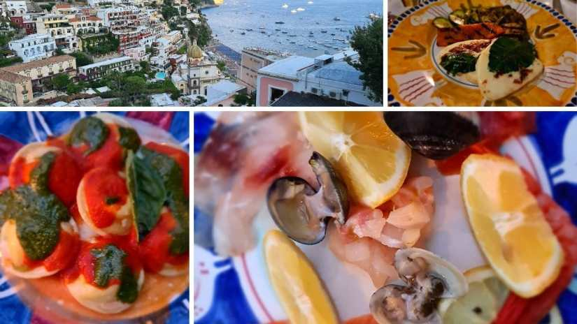 Top 3 Best restaurants in Positano Italy with a view