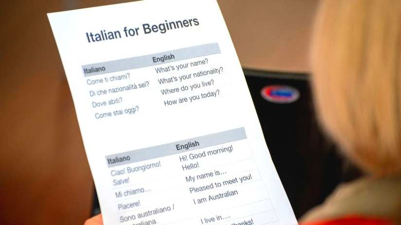 TOP Common Italian Phrases for traveling