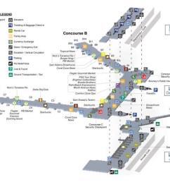 palm beach international airport pbi ground floor map [ 1012 x 783 Pixel ]