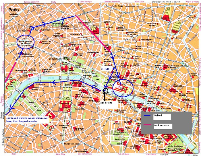 london map tourist attractions printable