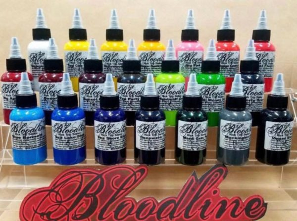 Rick Trip Tattoo Inks 21 Color Set