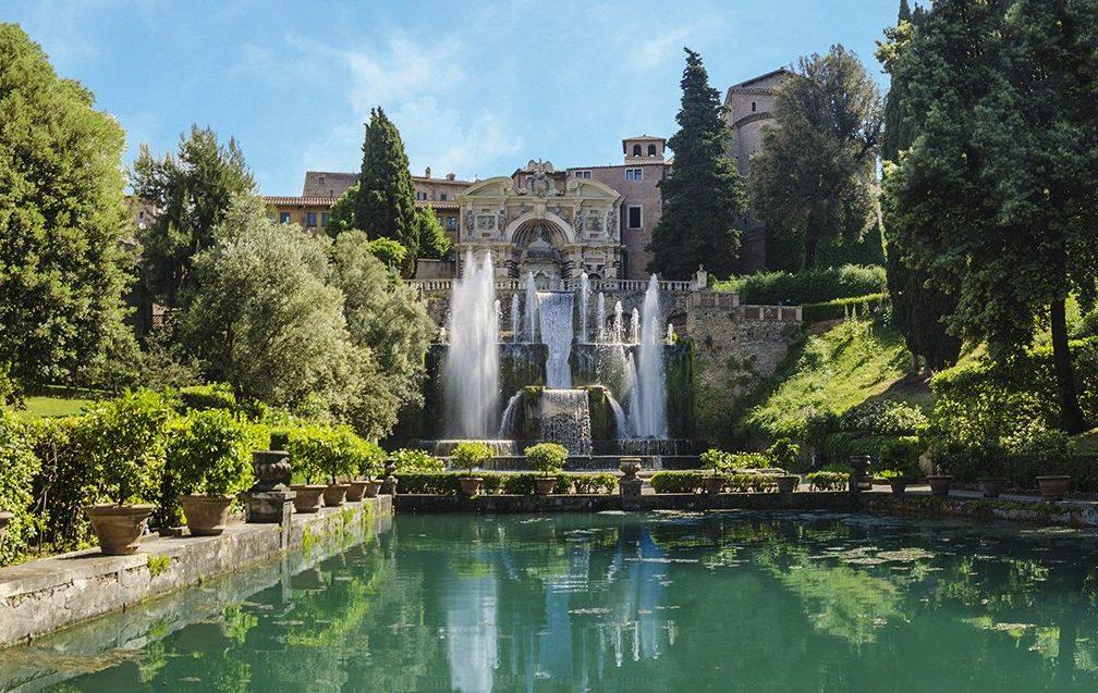 Villa d'Este a Tivoli come arrivare