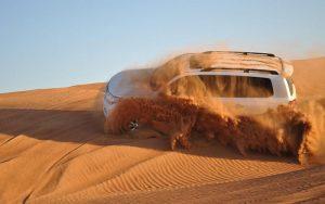 Dubai desert by Tripjohn