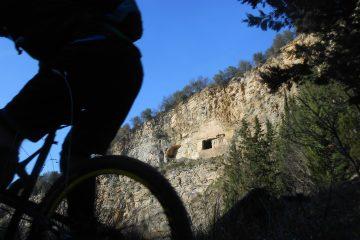 L'asino che vola tra le discese invernali del Monte Morello