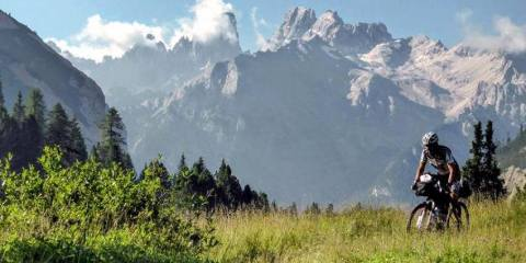 Montagne percorso South Tyrol Trail