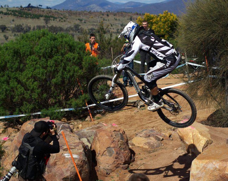 Downhill in Bike Park