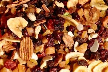 Frutti secchi ricchi in magnesio
