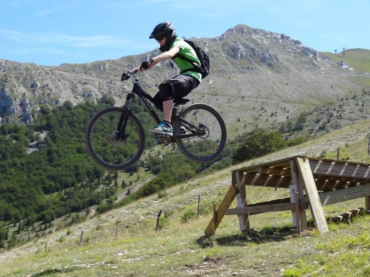 bike park down hill