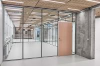 TP Acoustic sound-rated glass wall