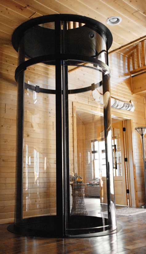 Home Elevator by Visilift  Triangle Research International
