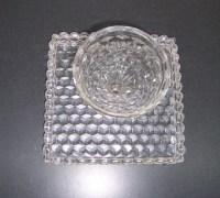 Fostoria American Clear Cake Plate | Triple A Resale