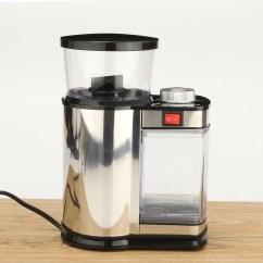 Electric Grinder Kitchen Buffet Ikea Tripleclicks Stainless Steel Coffee Bean